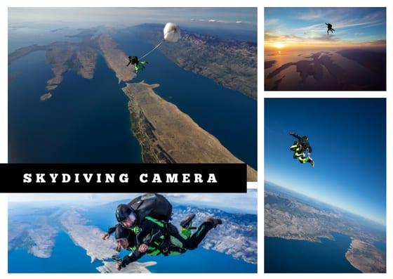 Skydiving camera video option