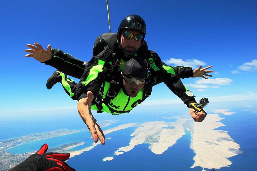Skydiving Zadar in Croatia