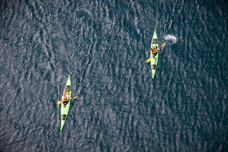 Sea Kayaking Zadar Island Pag