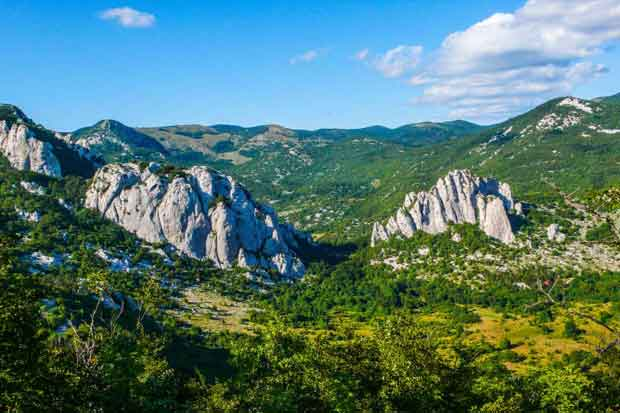 Velebit rock climbing adventure vacation