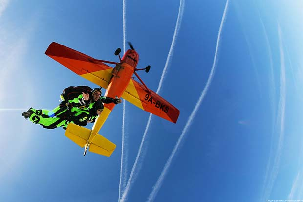 Adventure holiday with Skydiving Croatia