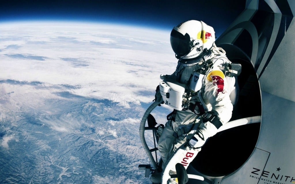 Space skydiving adventure