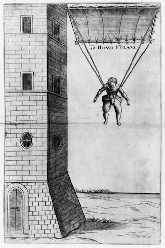 Skydiving history - homo volans