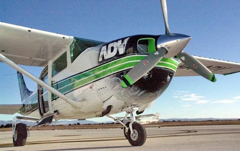 9A-ADV skydiving airplane