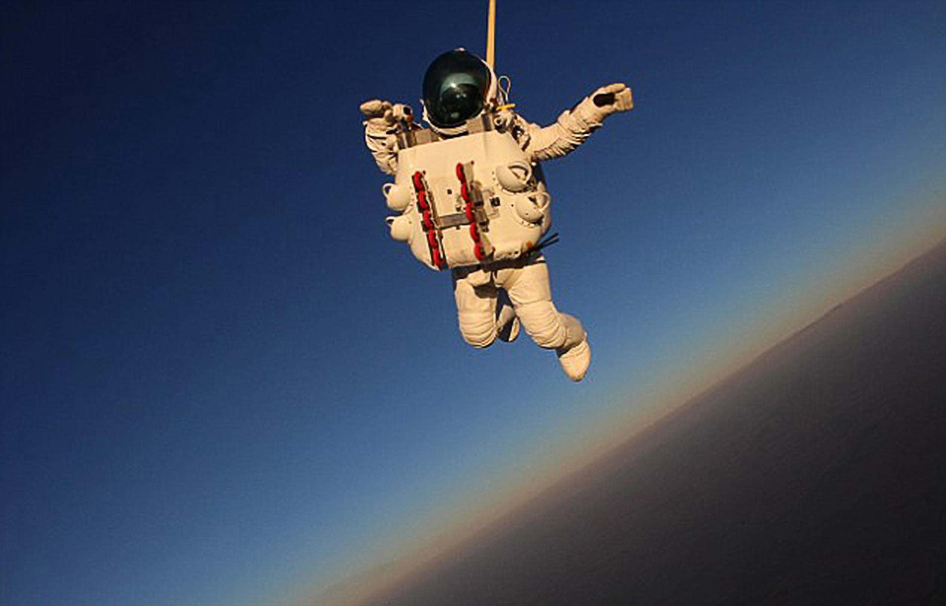 space skydiving