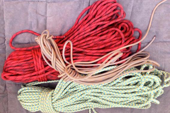 Climbing ropes