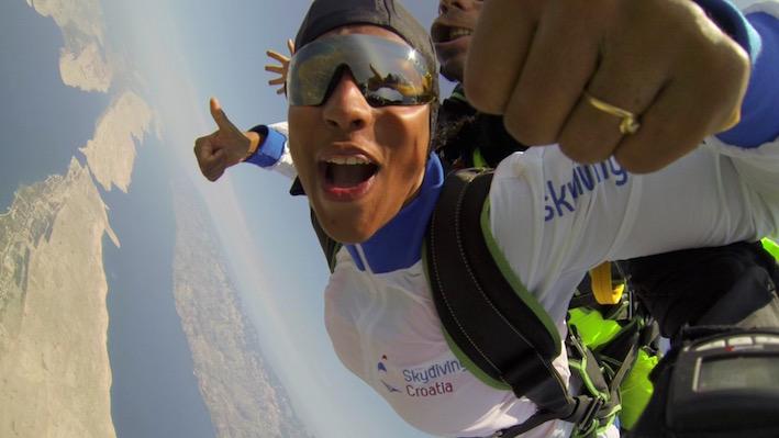 Skydiving in Croatia - Zadar