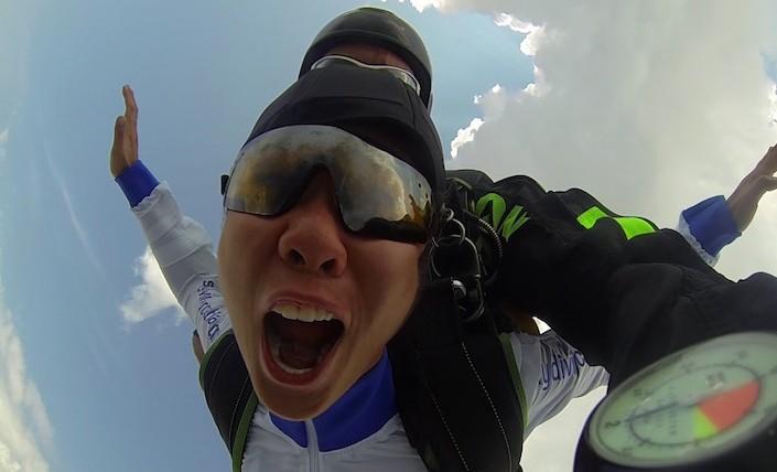Skydiving in Croatia testimonial
