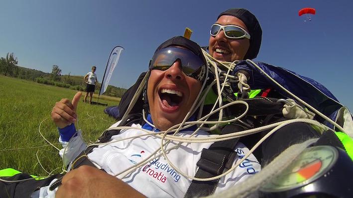 Skydiving with ADV in Zadar Croatia