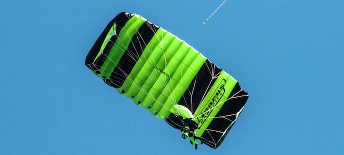 Skydiving parachute myth