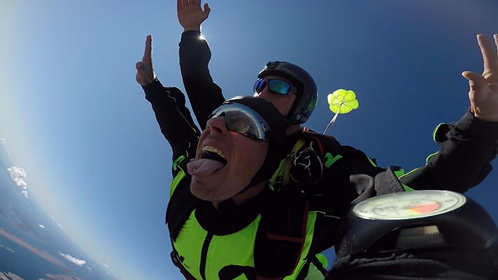 ADV skydiving