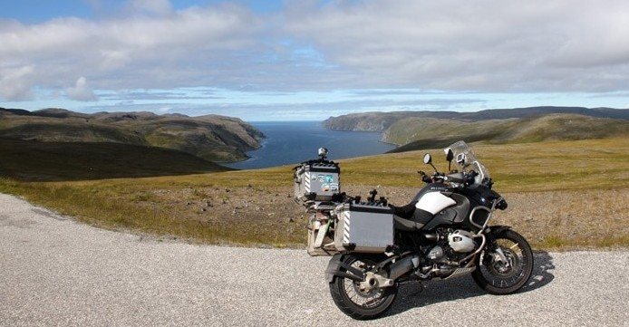 BMW R1200 GS Adventure on Nordkapp