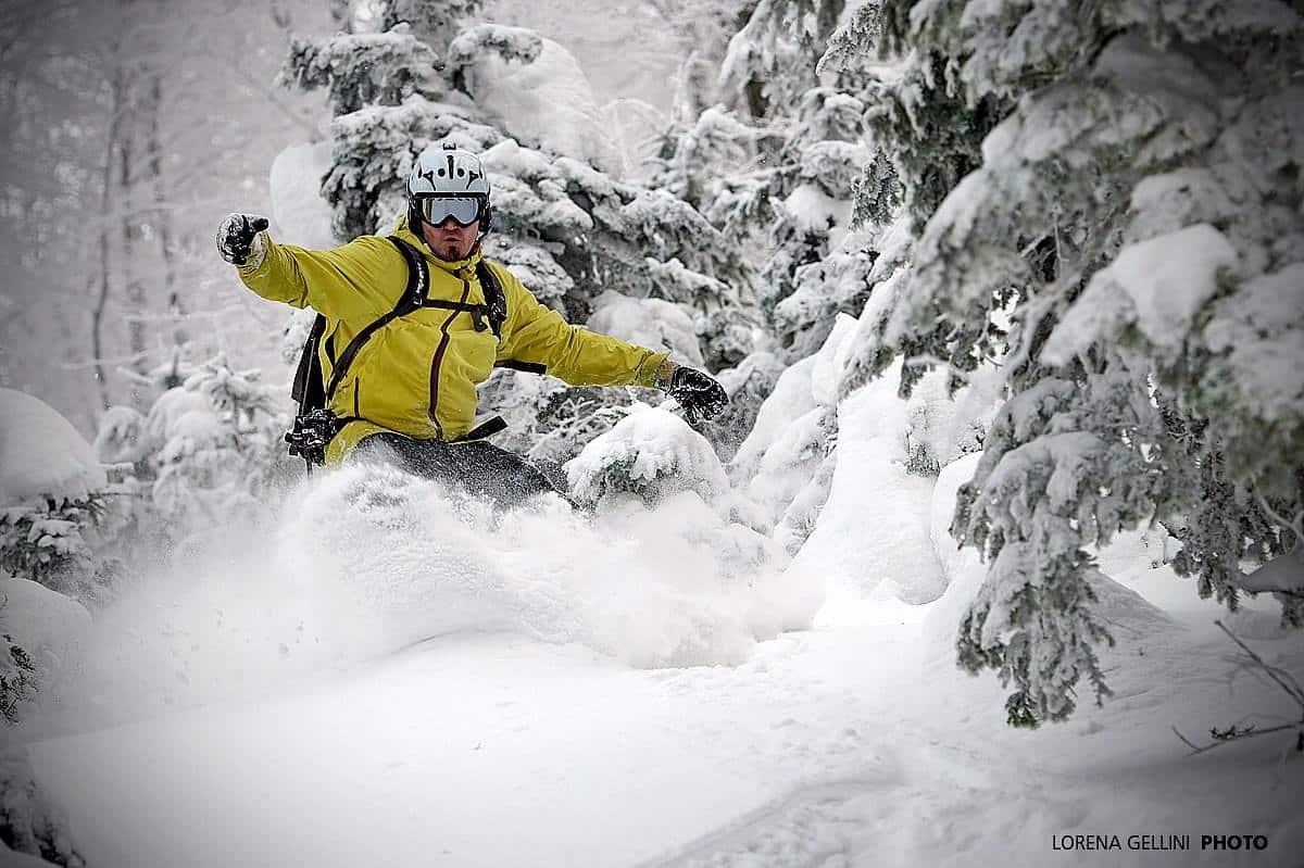 Snowboarder Sljeme