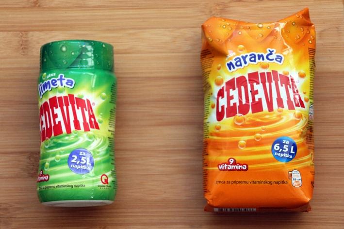 Cedevita drink product of Croatia