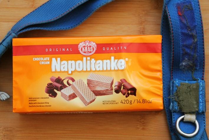 Napolitanke product of Croatia
