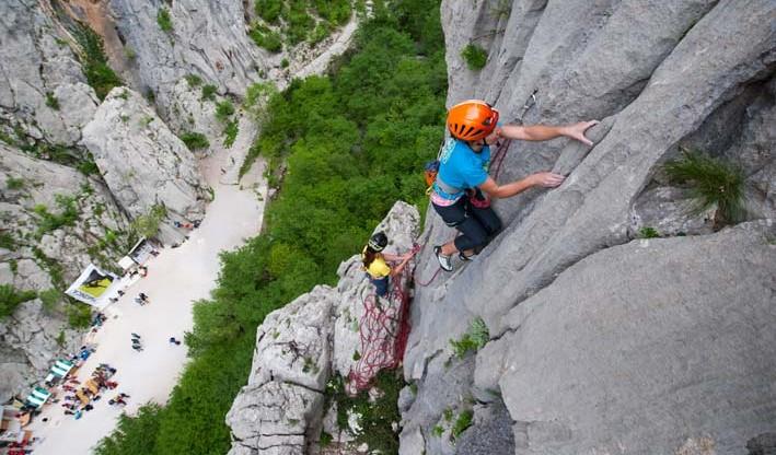BWSC Paklenica climbing competition