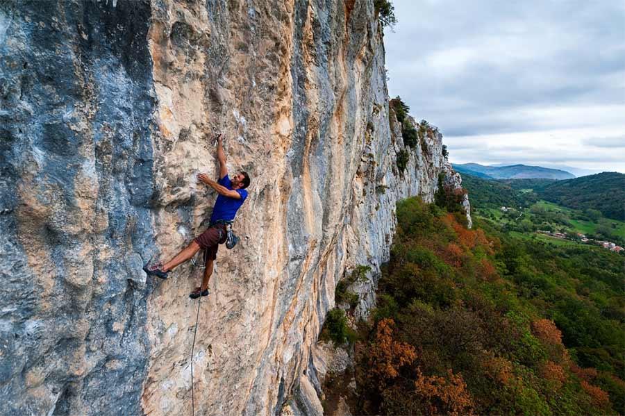 Kompanj climbing area