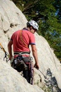 Free climbing instructor