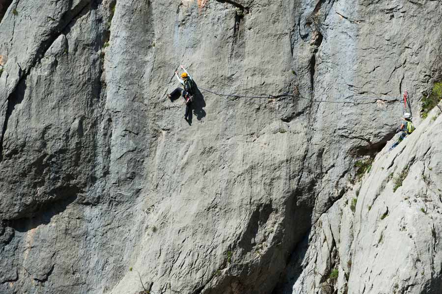 climbing adventure in croatia