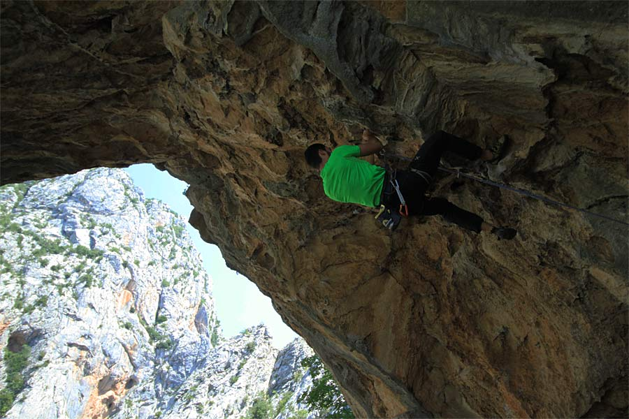 Climbing tour in Paklenica