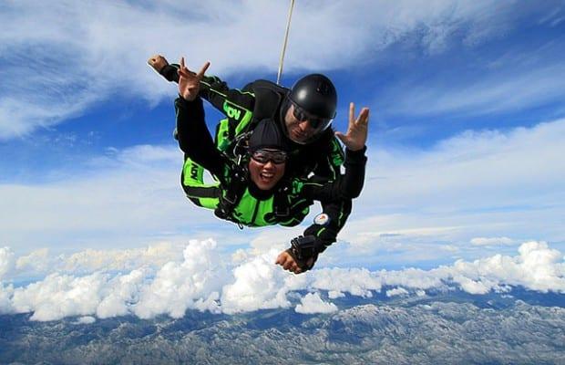 tandem skydive croatia