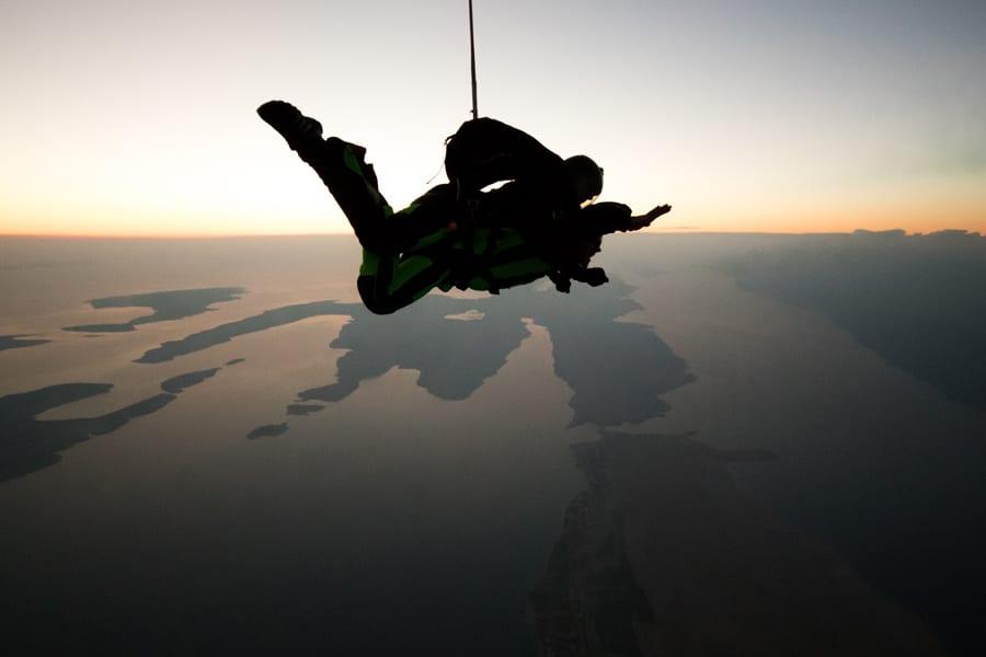 Sunset Skydiving in Zadar – Croatia