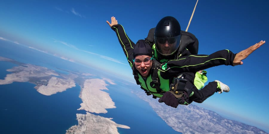 Skydiving Croatia with ADV in Zadar