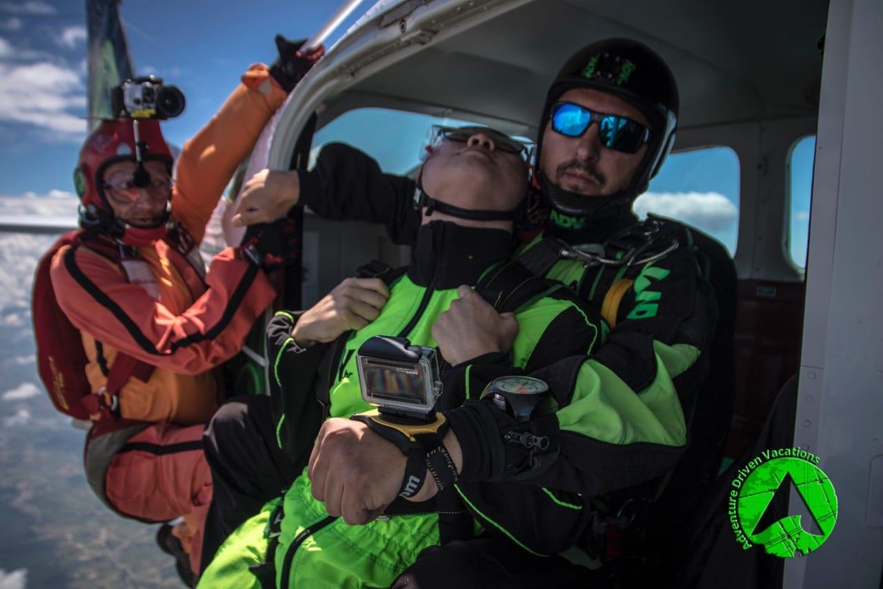 tandem skydiving croatia adv