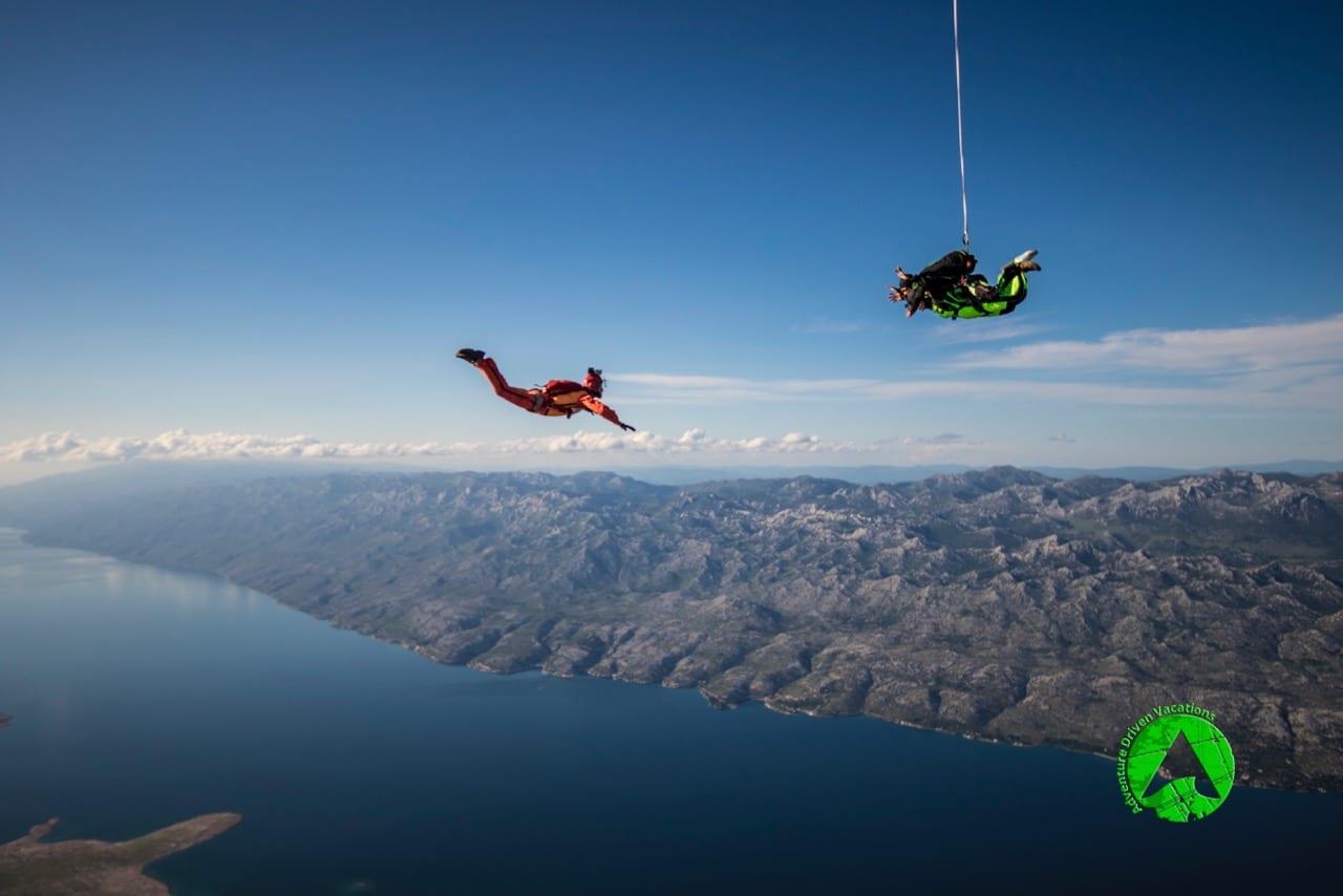 skydiving croatia top 10 photos