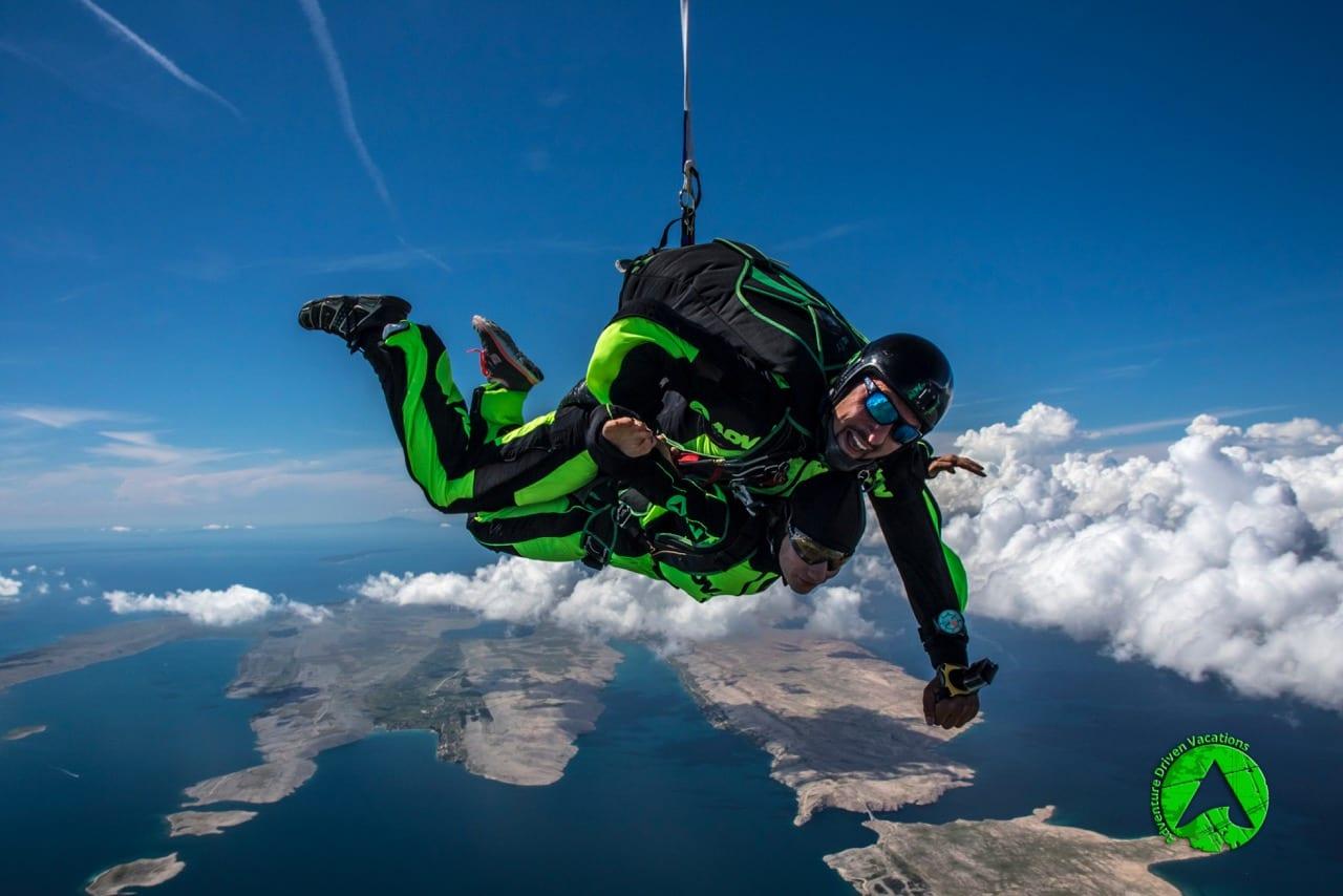 skydiving Croatia instructor Grgo Miocic