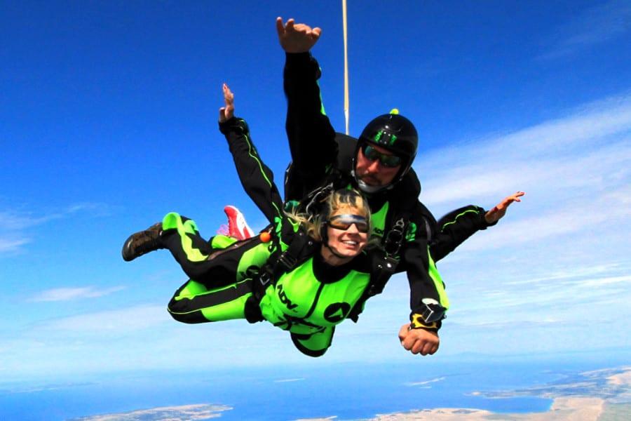 saut en parachute zadar